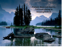 NatureDoesntHurry