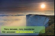 NoExcusesNoBoundaries